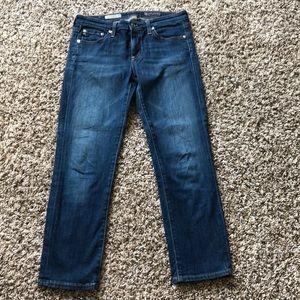 AG crop jeans